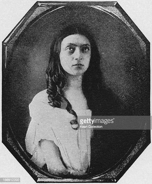 American actress Louisa Lane Drew as Ophelia in Shakespeare's 'Hamlet' circa 1848 She and her husband actor John Drew were ancestors of the Barrymore...