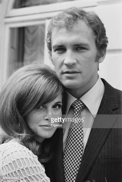American actress Lynn Loring with her husband American actor Roy Thinnes Uk 15th October 1968