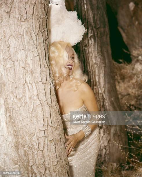 American actress Mamie Van Doren circa 1960