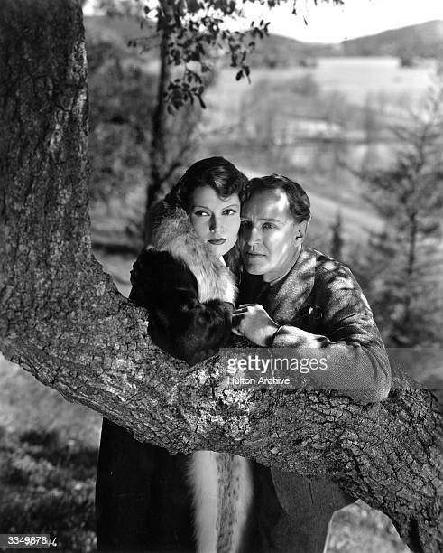 American actress Marguerite Churchill and American actor Otto Kruger on location during the filming of 'Dracula's Daughter' a Universal Studios...