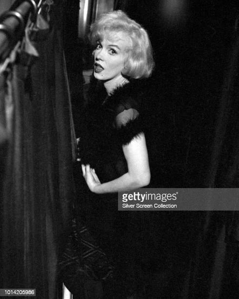 American actress Marilyn Monroe in a scene from the comedy 'Some Like It Hot', 1959.