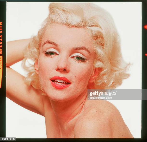 American actress Marilyn Monroe photographed in Beverly Hills California at the end of June 1962 The two sessions for the photoshoot took place in...