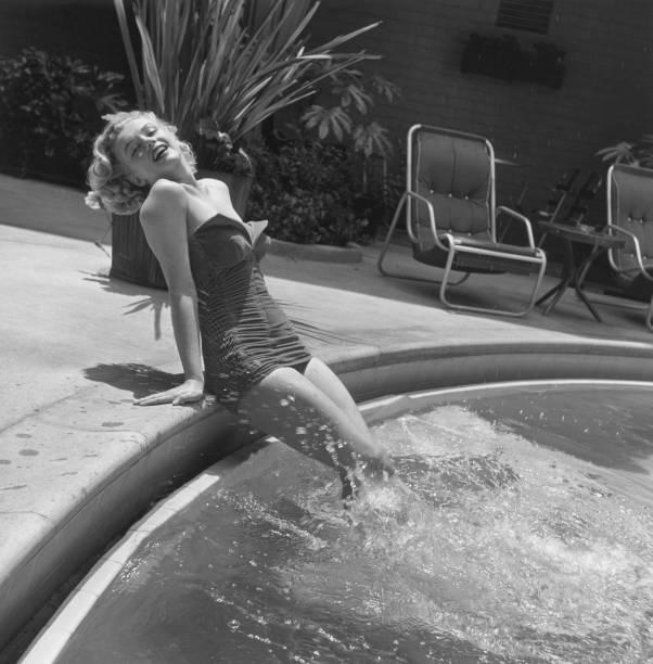 Marilyn Monroe Poolside