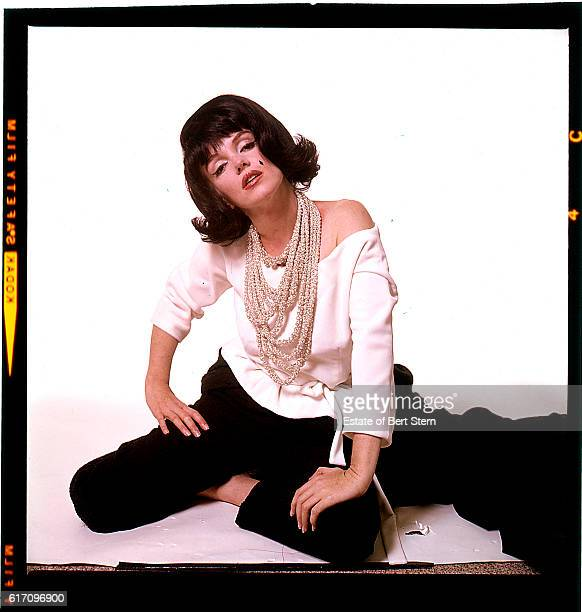 American actress Marilyn Monroe wearing a black wig Beverly Hills California July 1962 The two sessions for the photoshoot took place in late June...