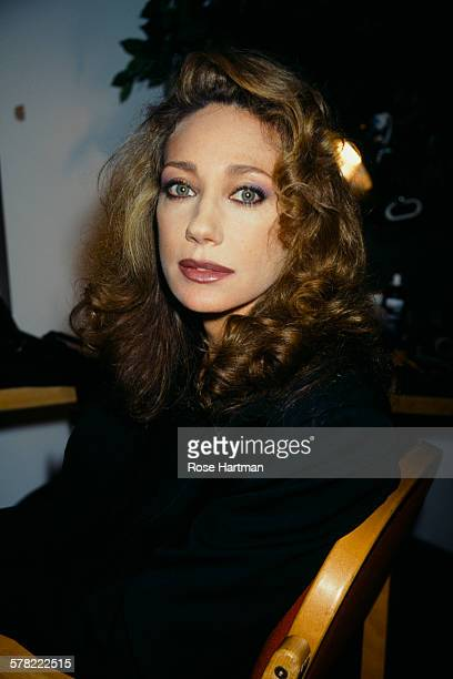 American actress Marisa Berenson at the Genny fashion show in New York 1995