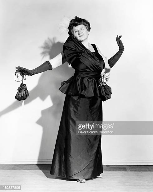 American actress Marjorie Main as Ma Kettle in a promotional portrait for 'Ma and Pa Kettle on Vacation' directed by Charles Lamont 1953