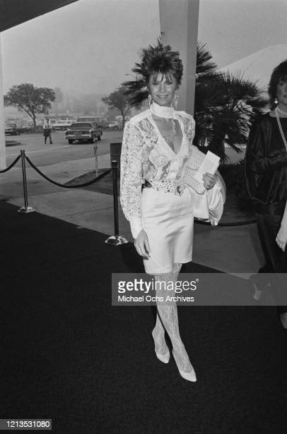 American actress Markie Post attends the Third Annual Television Academy Hall of Fame induction ceremony in Santa Monica California 1986