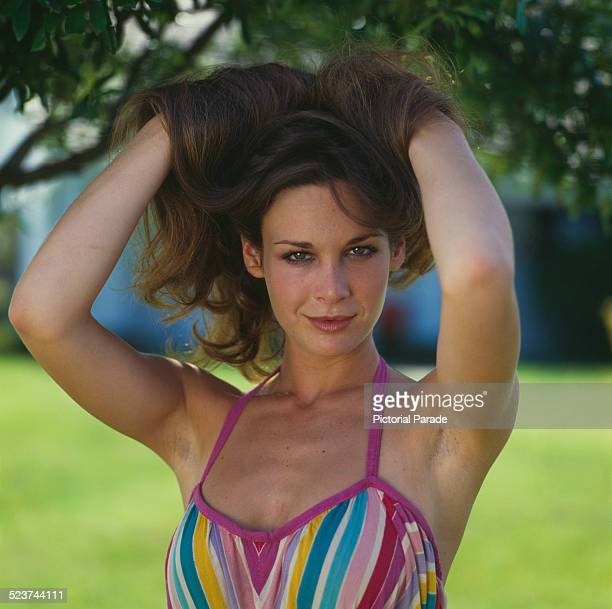 American actress Mary Crosby 1980 She is best known for her role as Kristin Shepard in the US TV series 'Dallas'