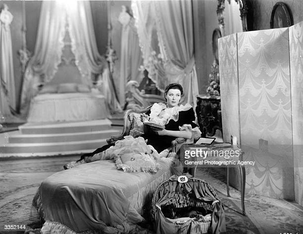 American actress Mary Ellis stars in 'All The King's Horses' an operettastyle film based around the plot of 'The Prisoner of Zenda' It was directed...