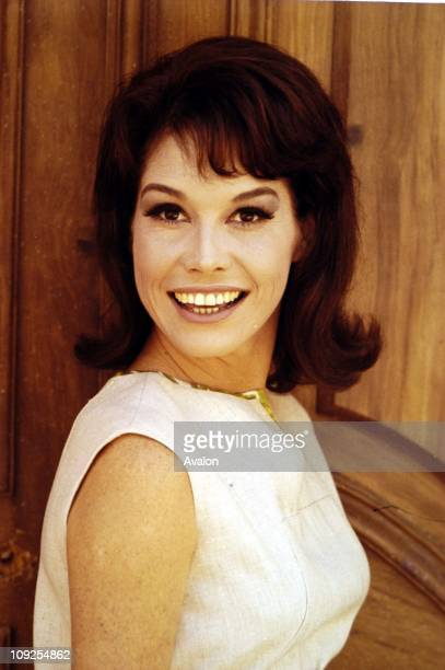 American Actress Mary Tyler Moore.