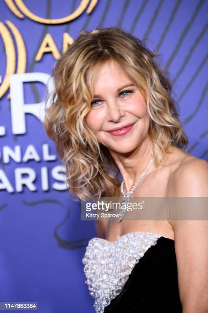 American Actress Meg Ryan attends the 350th Anniversary Gala photocall at Opera Garnier on May 08 2019 in Paris France