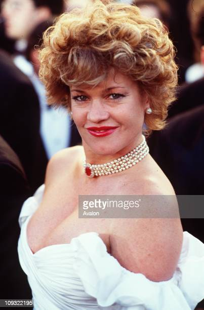 American Actress Melanie Griffith at the 1989 Academy Awards