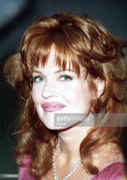American actress Melanie Griffith at the Los Angeles premiere of 'Desperado' 21st August 1995