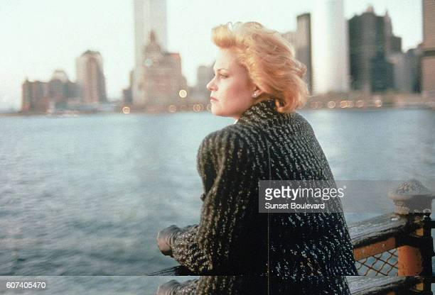 American actress Melanie Griffith on the set of Working girl directed by Germanborn American Mike Nichols