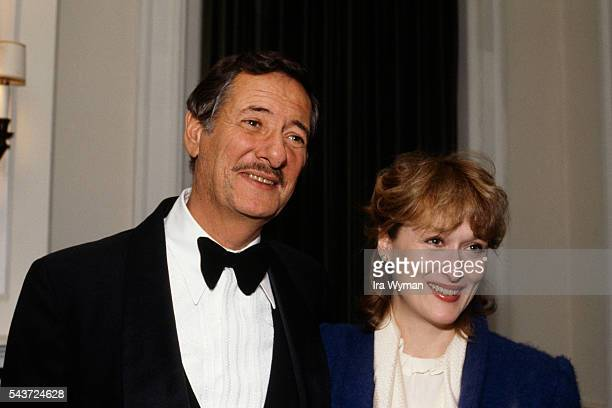 American actress Meryl Streep attend the premiere of the film Sophie's Choice directed written and produced by Alan J Pakula