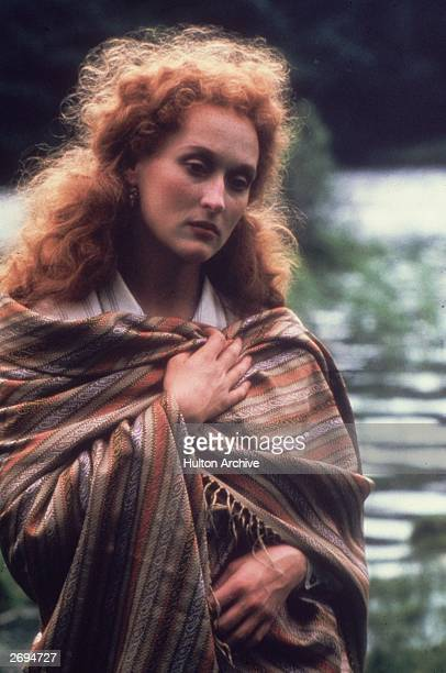 American actress Meryl Streep plays the tragic heroine of Karel Reisz' drama 'The French Lieutenant's Woman' based on the novel by John Fowles