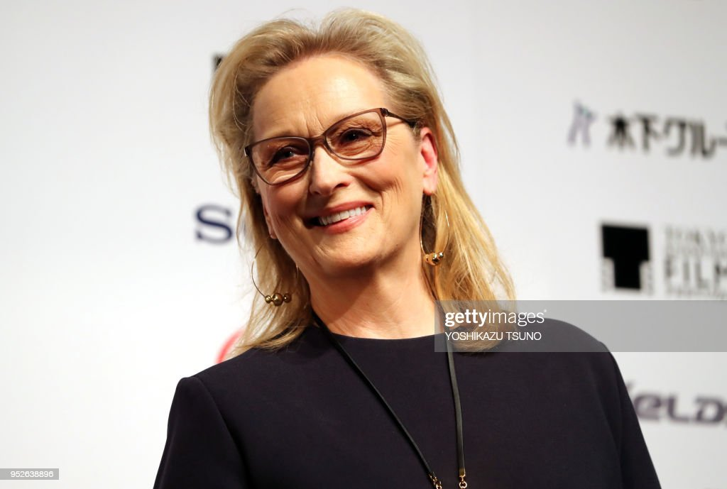 L'actrice américaine Meryl Streep : News Photo