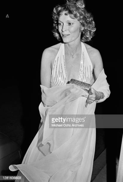 American actress Mia Farrow at the 51st Academy Awards at the Dorothy Chandler Pavilion in Los Angeles, 9th April 1979. She is presenting the...