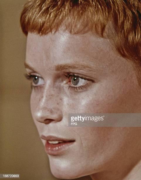 American actress Mia Farrow circa 1968