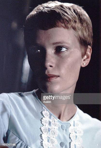 American Actress Mia Farrow From the film Rosemary's Baby by Roman Polansky 1968