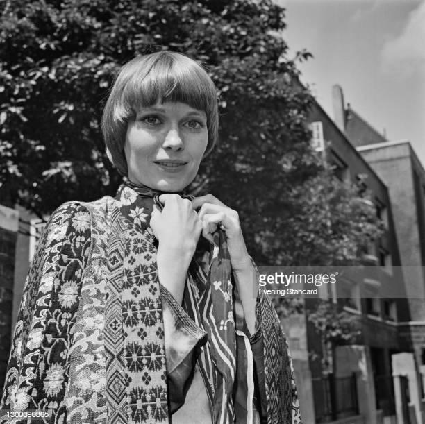 American actress Mia Farrow, UK, 20th July 1972.