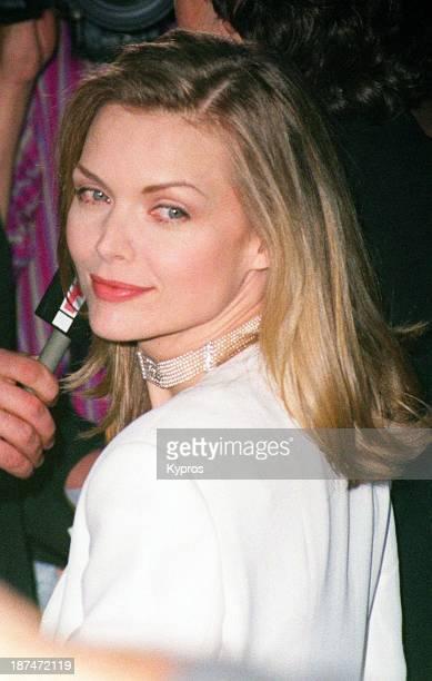 American actress Michelle Pfeiffer circa 1990