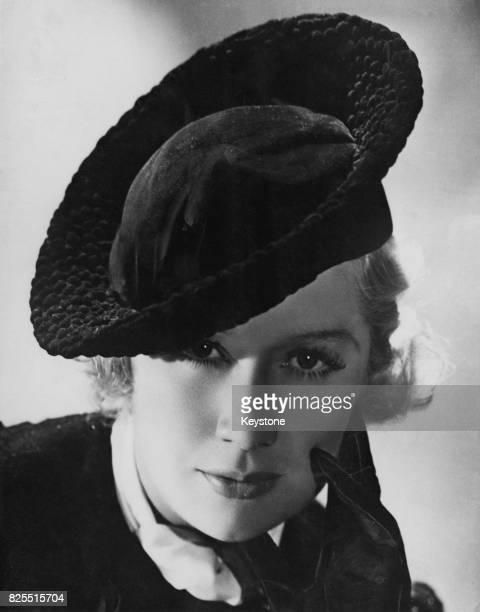 American actress Miriam Hopkins circa 1940