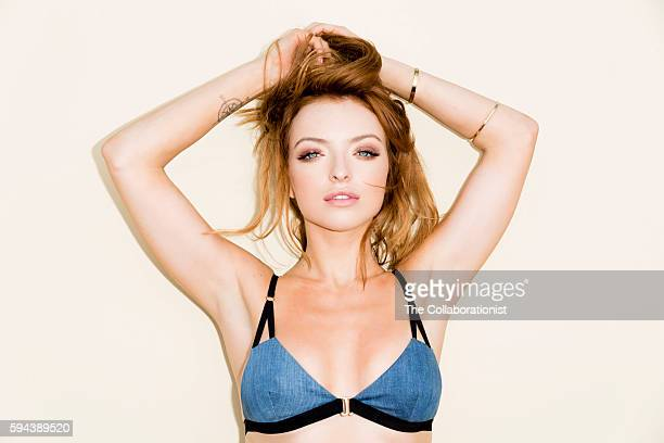 American actress model television personality and socialite Francesca Eastwood is photographed for Esquire Magazine on July 31 2015 in Los Angeles...
