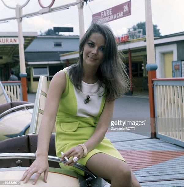 American Actress Natalie Wood Seventies