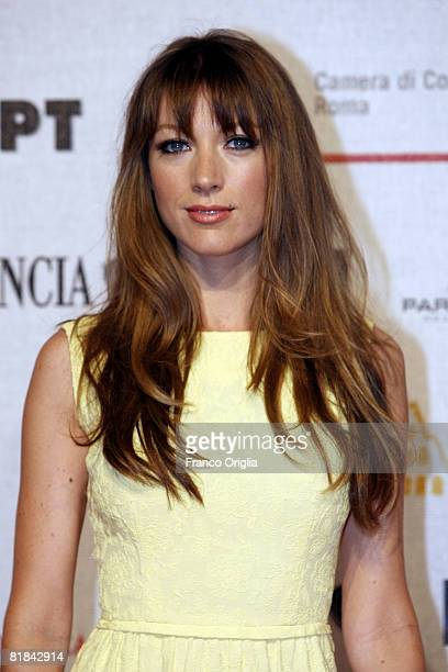 American actress Natalie Zea of the television series 'Dirty Sexy Money' attends a photocall at the Adriano Cinema during the first day of the...