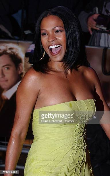 American actress Nia Long arrives at the premiere of Charles Shyer's movie Alfie at the Empire Leicester Square in London