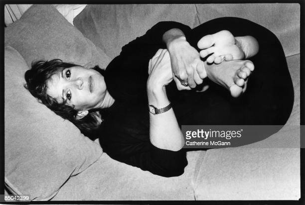 American actress novelist and screenwriter Carrie Fisher poses for a portrait on August 281987 in New York City New York