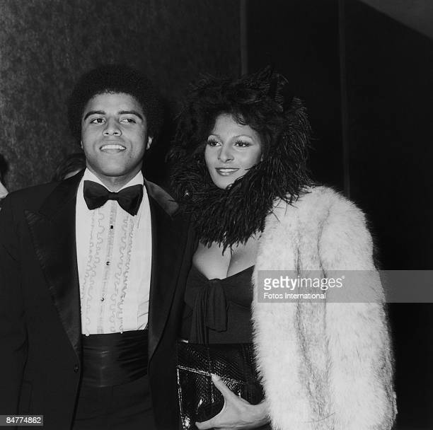 American actress Pam Grier and her brother Rod attend the NAACP Image Awards at the Hollywood Palladium, January 1974.