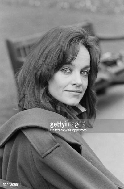 American actress Pamela Sue Martin pictured in London on 19th March 1985