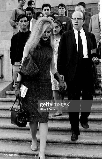 American actress Pamela Tiffin during a visit to the 'Prado Museum ' Madrid Castilla La Mancha Spain