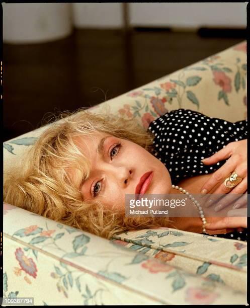 American actress Patti D'Arbanville London May 1989