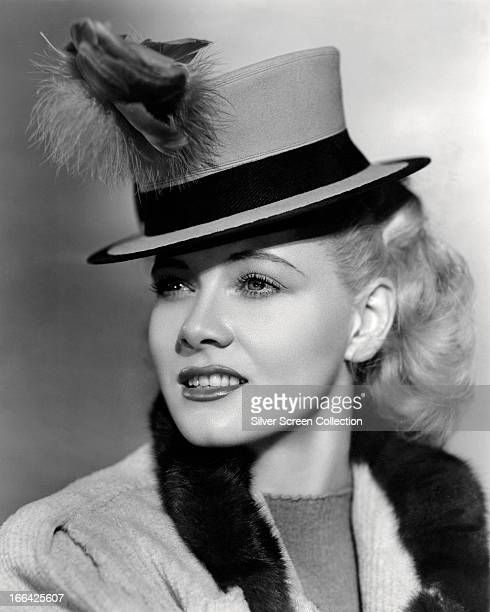 American actress Penny Singleton as comic strip heroine Blondie Bumstead in 'Blondie Takes a Vacation' directed by Frank Strayer 1939