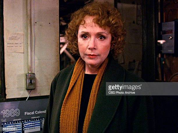 American actress Piper Laurie in a scene from the pilot episode of the television series 'Twin Peaks' originally broadcast on April 8 1990