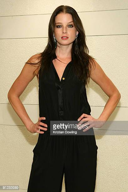 American actress Rachel Nichols attends 'Hollywood Night in Bangkok' at the Chatrium Suites on the fourth day of the Bangkok International Film...