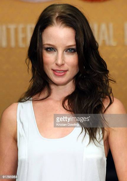American actress Rachel Nichols attends the Golden Kinnaree Awards on the sixth and final day of the Bangkok International Film Festival 2009 at the...