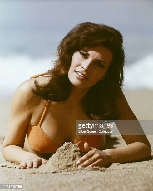 American actress Raquel Welch as Juliana in a publicity shot for the crime film 'The Biggest Bundle of Them All', 1968.