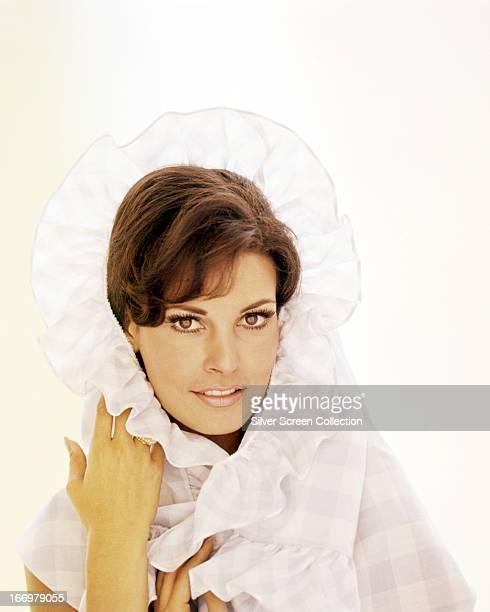 American actress Raquel Welch circa 1965