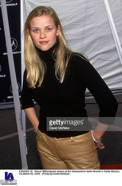 American actress Reese Witherspoon arrives at the Independent Spirit Awards in Santa Monica, Ca March 25, 2000.