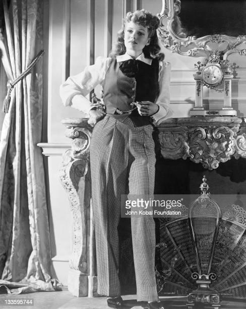 American actress Rita Hayworth circa 1944