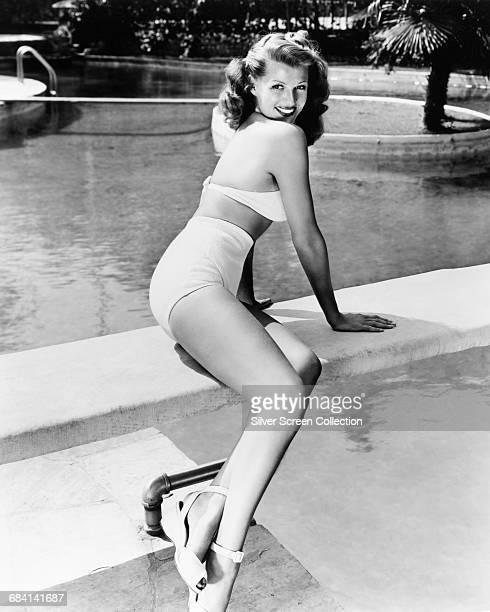 American actress Rita Hayworth circa 1950