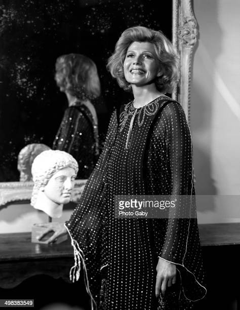 American actress Rita Hayworth Los Angeles 1978