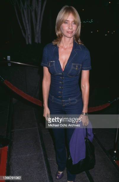 American actress Rosanna Arquette at the premiere of the film 'Dancer in the Dark' in West Hollywood, California, 26th September 2000.