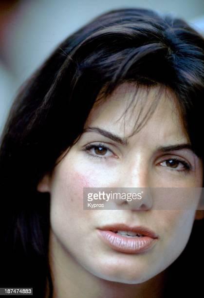 American actress Sandra Bullock circa 1995