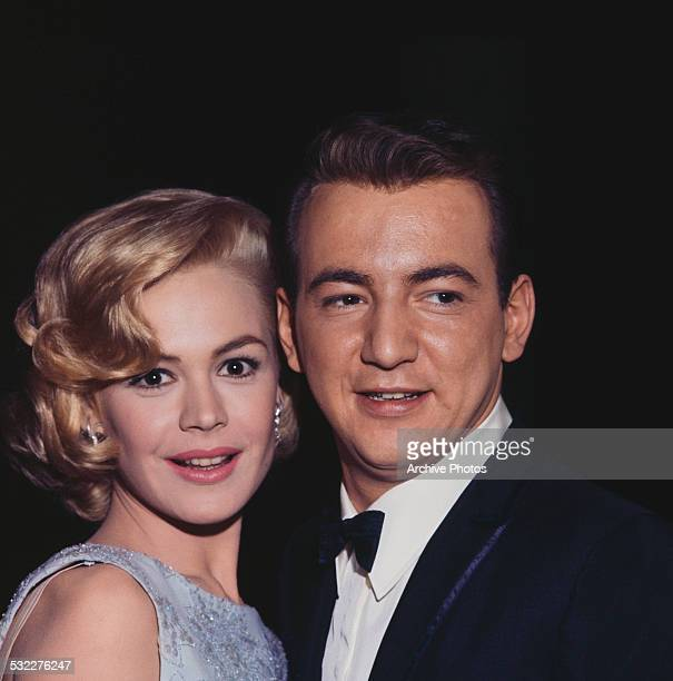 American actress Sandra Dee and her husband American singer songwriter and actor Bobby Darin circa 1962