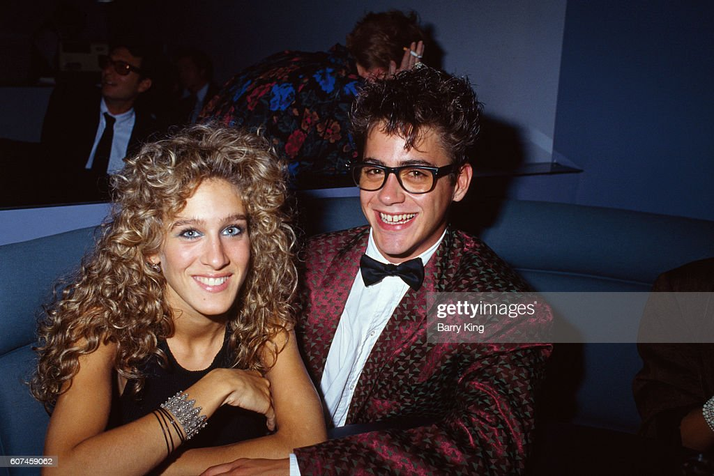 Sarah Jessica Parker with Robert Downey Jr : News Photo
